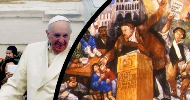 El Papa Francisco y Ozanam sobre el cambio sistémico