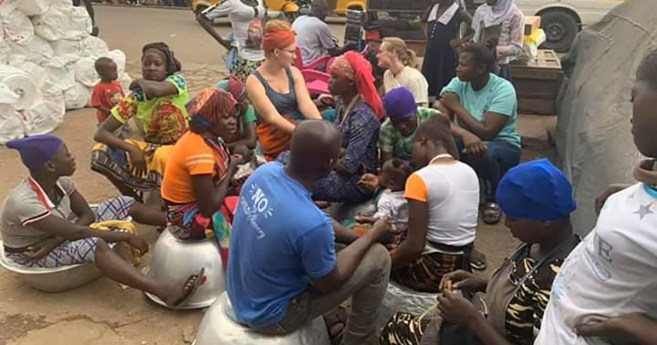 Esfuerzos para poner fin a la trata de personas en Kumasi (Ghana)