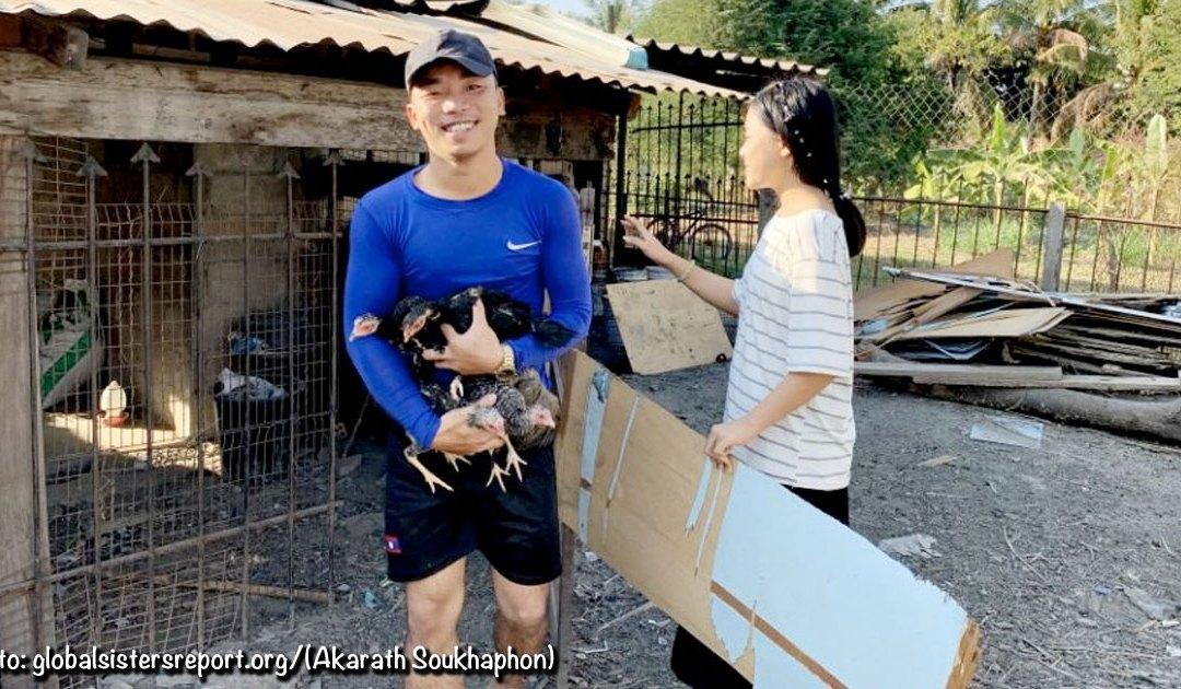El Centro Nazaret alberga a jóvenes laosianos necesitados mientras estudian en Vientián (Laos)