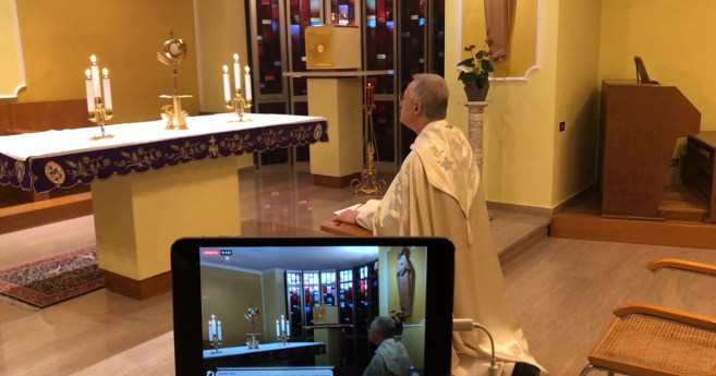 Revive el encuentro de oración de la Familia Vicenciana del 28 de marzo, pidiendo el fin de la pandemia