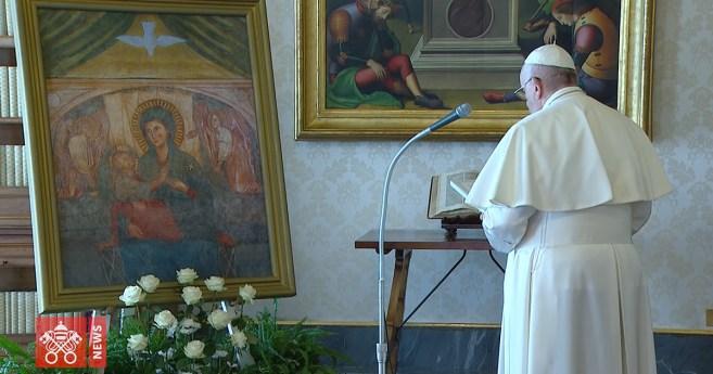 La oración del papa Francisco ante la emergencia del coronavirus