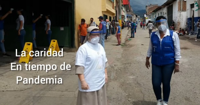 Las Hijas de la Caridad mayores, una gran fuerza espiritual en tiempo de pandemia