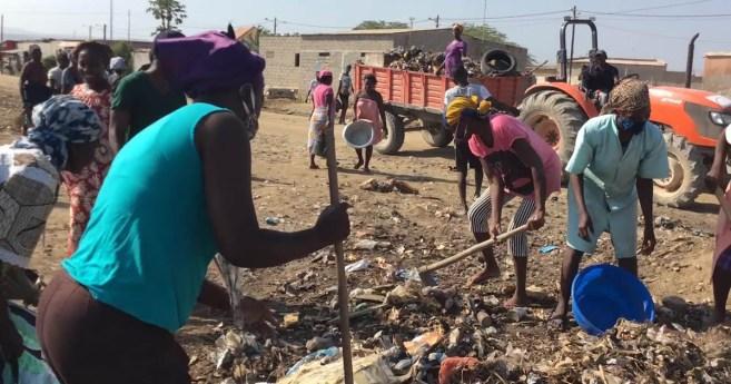 Misionera de MISEVI en Angola: Nadie termina su sopa si la persona de al lado no ha comido