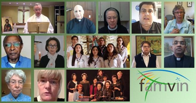 Encuentro de oración de toda la Familia Vicenciana del 12 de julio