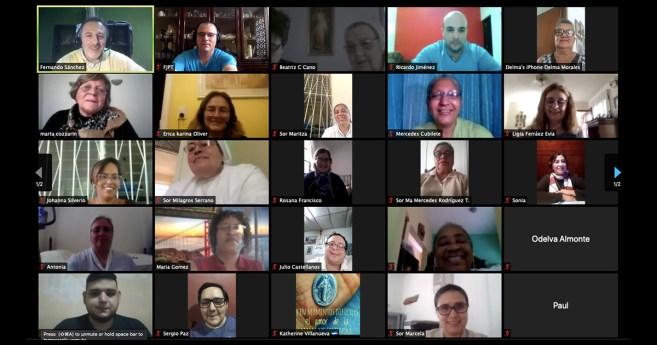 Primera reunión de la confraternidad de educadores vicentinos