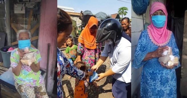 Servicio a los pobres afectados por el covid-19 en Indonesia
