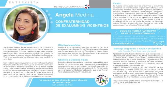 Entrevista a Ángela Medina, responsable de la Confraterindad de Exalumnos vicentinos
