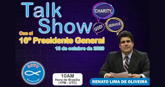Talk Show con el Presidente de la SSVP: Transparencia y diálogo