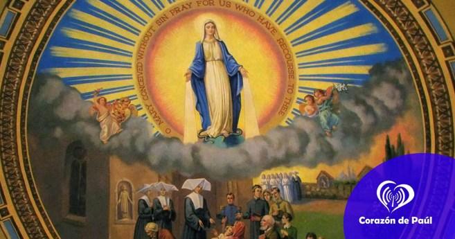 Las manos de la Virgen en la Medalla Milagrosa