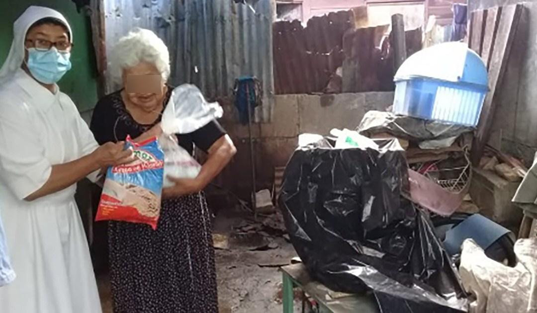 Auxilio a las personas mayores de las Hijas de la Caridad en Nicaragua