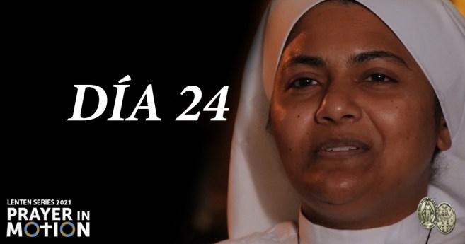 Serie de vídeos de Cuaresma: Día 24, Compartiendo la oración con los pacientes