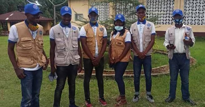 La labor de los jóvenes vicentinos de Liberia