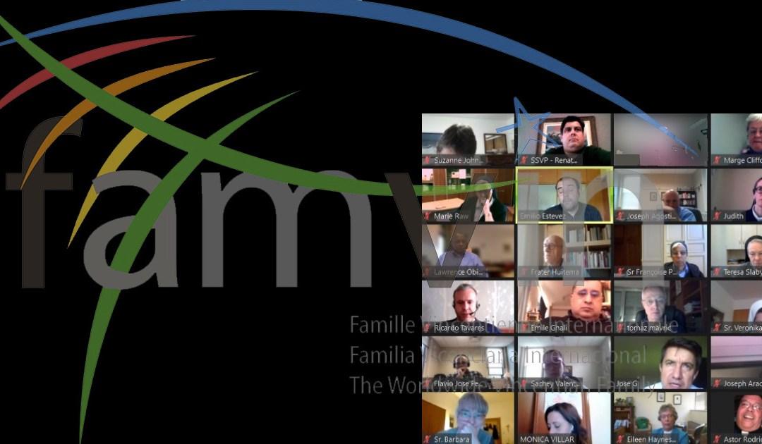 El Comité Ejecutivo de la Familia Vicenciana se reúne virtualmente
