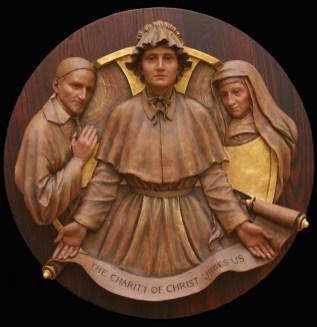 1.Mother-Seton-with-Saints-1