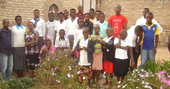 """Proyecto """"Amis de St. Vincent de Paul"""" en Ruanda, África"""