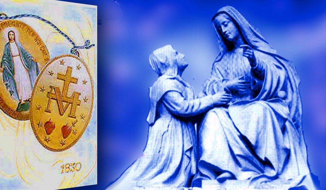 30 de Junio: las primeras medallas de la Milagrosa