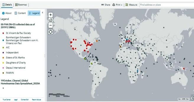 Proyecto del mapeo vicenciano