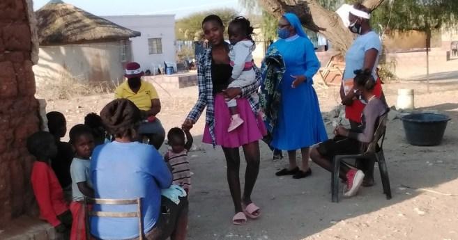 Iniciativa del Programa Extraescolar de las Hermanas de la Nueva Evangelización en Tonota (Botsuana)