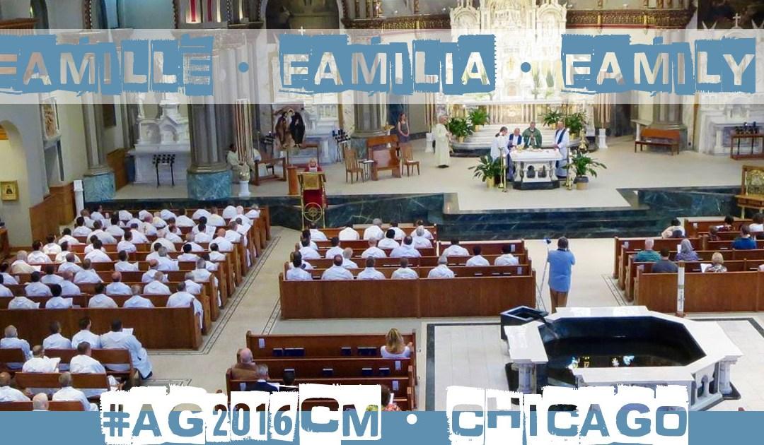 Messe avec la famille vincentienne à Chicago