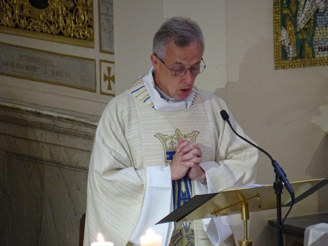 Pèlerinage du Supérieur Général auprès des Saints Fondateurs