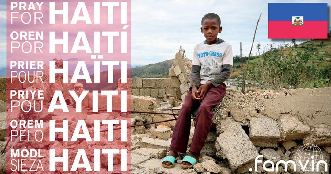 Les Filles de la Charité visitent quelques lieux dévastés par l'ouragan Matthew en Haïti