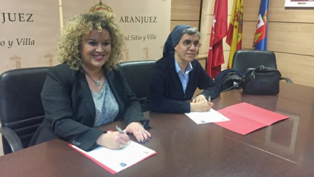 Nouvelle organisation pour la distribution alimentaire au centre social de San José à Aranjuez