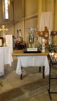 Le pèlerinage du cœur de saint Vincent de Paul poursuit son chemin…