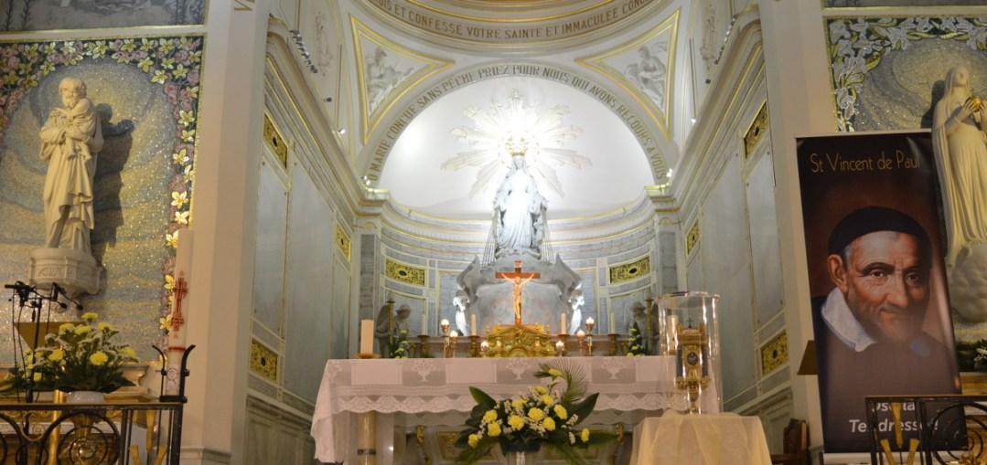 Veillée de prière pour les vocations autour du cœur de Saint Vincent
