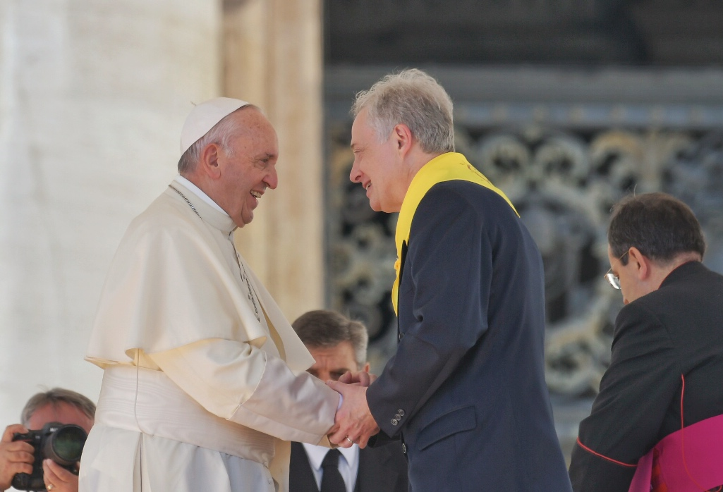 Le Pape à la famille vincentienne : adorer, accueillir et aller