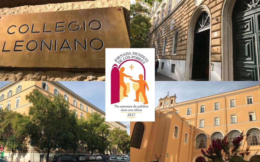 Le Vatican choisit un collège vincentien à Rome pour le repas durant la Journée Mondiale des Pauvres