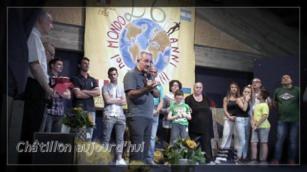 Châtillon, aujourd'hui • Une vidéo du P. Tomaz Mavrič, CM