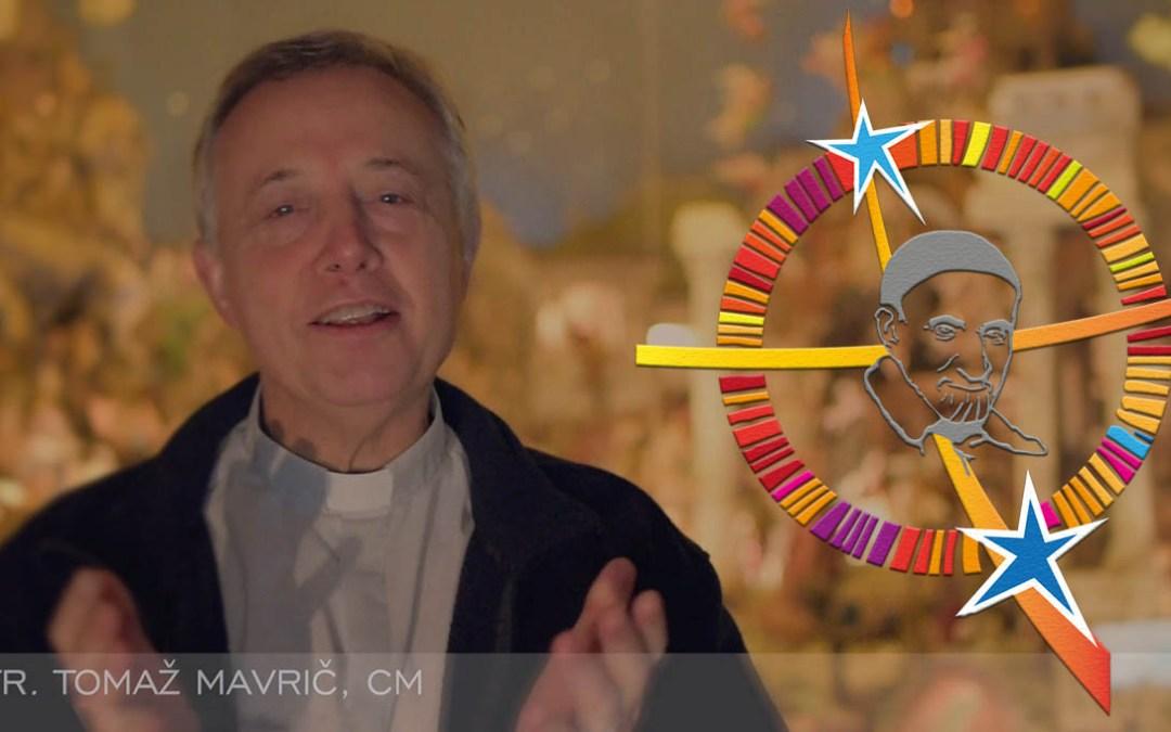 Vœux de Noël du Père Tomaž Mavrič, c.m. à la Famille Vincentienne