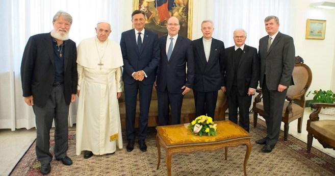 Le pape François reçoit le père Opeka pour la deuxième fois
