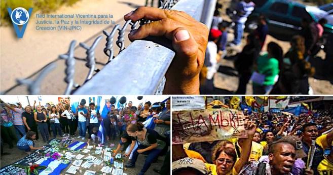 Communique de Presse en Solidarité avec Nicaragua, Venezuela et aux les Migrants du États-Unis