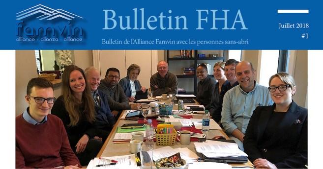 Famvin Homeless Alliance Newsletter – July 2019