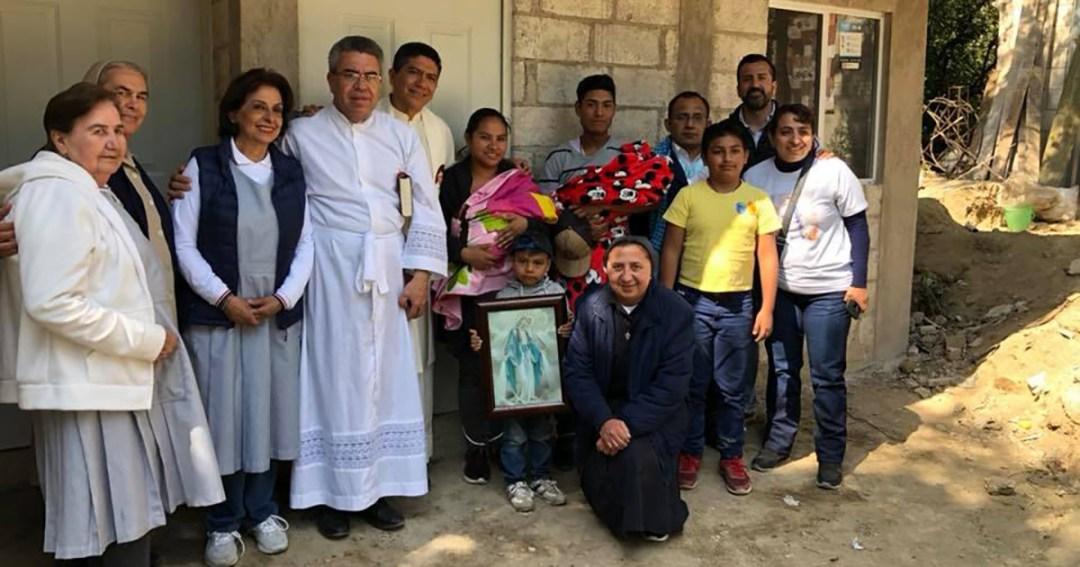 La Famille Vincentienne du Mexique offre 15 maisons aux victimes de tremblements de terre