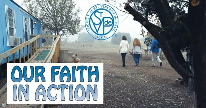 Le nouveau film de la SSVP: « Notre foi en action »
