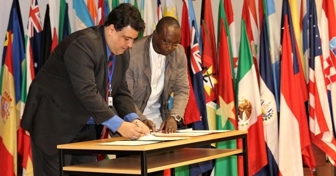 Deux branches de la Famille Vincentienne signent un accord de Coopération Internationale
