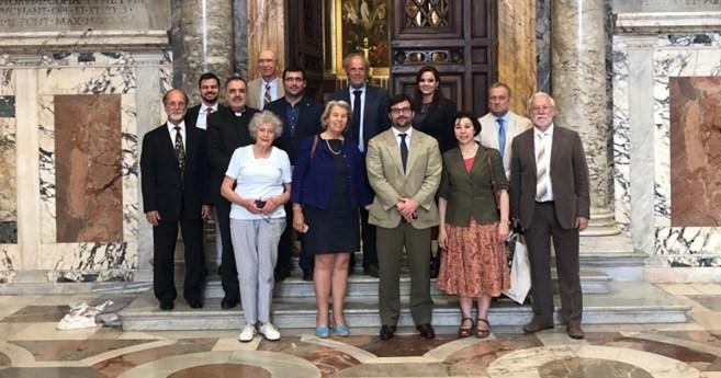 Participation d'une représentante AIC à une réunion du Forum des ONG d'inspiration catholique à Rome