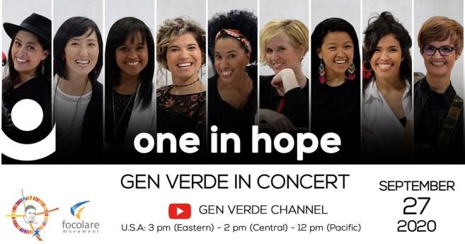 Concert de « Gen Verde », 27 septembre 2020, Inspiré par la vie et les œuvres de Saint Vincent de Paul