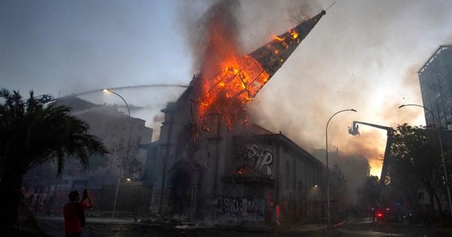 Les églises incendiées une atteinte pour l'expression de la liberté religieuse