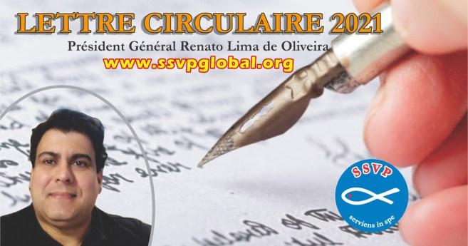 Lettre circulaire 2021 du Président Général de la Société de Saint-Vincent de Paul