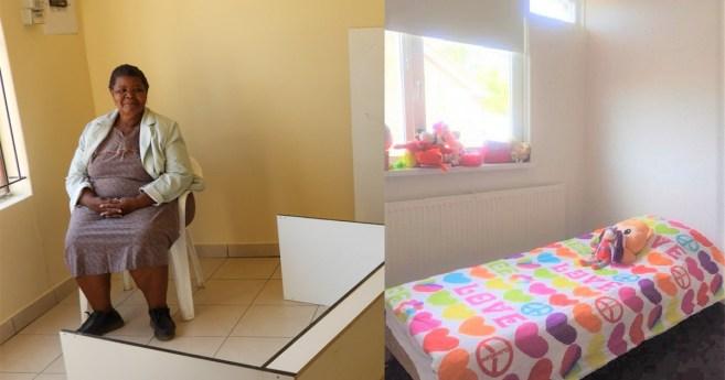 Une maison à Namibie et des lits dans les Pays-Bas