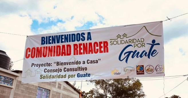 «Bienvenue à la maison», le projet de la campagne «13 Maisons» au Guatemala