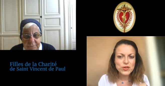 Entrevue avec Soeur Francoise Petit, Supérieure générale de la Compagnie des Filles de la Charité
