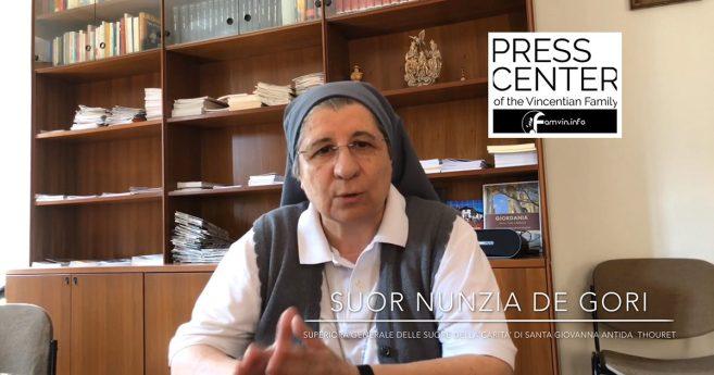 Intervista a Suor Nunzia de Gori, Superiora Generale delle Suore della Carità di Santa Giovanna Antida Thouret