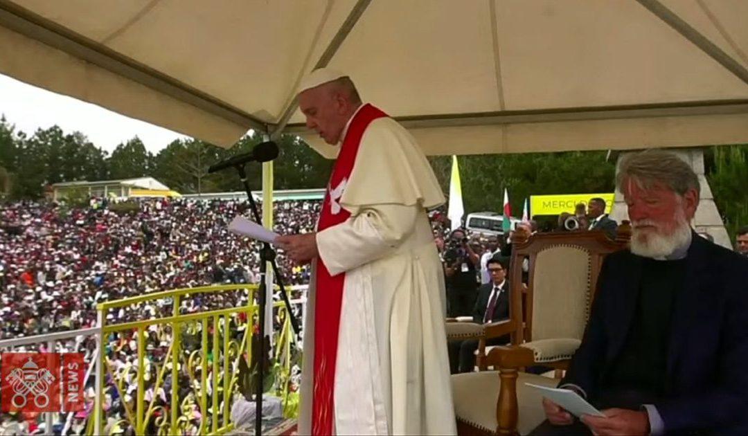 Parole di Papa Francesco durante la sua visita ad Akamasoa