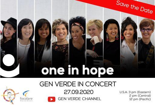 Rivivete il concerto del gruppo Gen Verde, nella festa di San Vincenzo de' Paoli