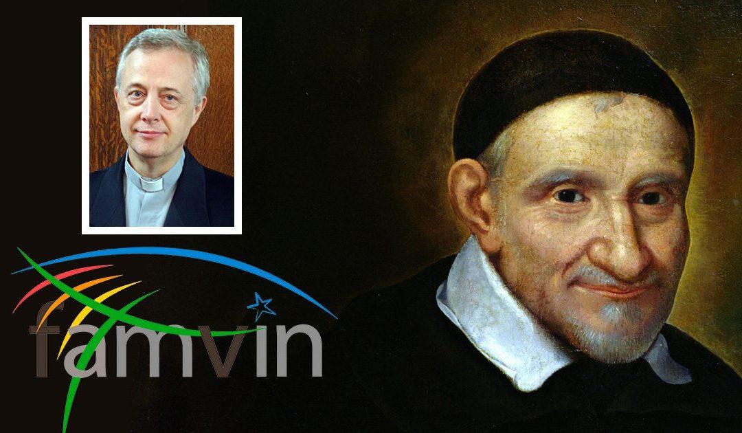Lettera di P. Tomaž Mavrič, CM, in occasione della festa di San Vincenzo de' Paoli 2021