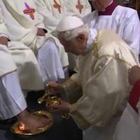 Wielki Czwartek – Msza Św. Wieczerzy Pańskiej – homilia Benedykta XVI